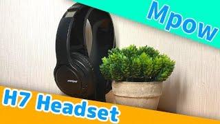 """【商品レビュー】格安Bluetoothワイヤレスヘッドセット """"Mpow H7"""" レビュー!"""