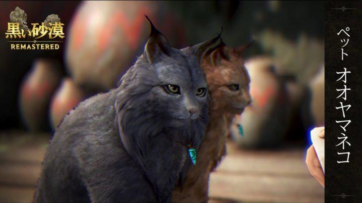 『黒い砂漠』公式動画 -新ペット「オオヤマネコ」-