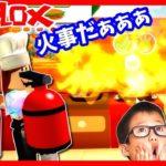 火事だぁぁぁ😱  かほせい コックさん 料理します🍳  兄弟ケンカ勃発💢ゲーム 実況 ROBLOX Dare to Cook