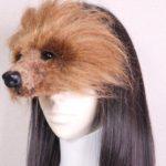 このペットは髪の毛で作られています