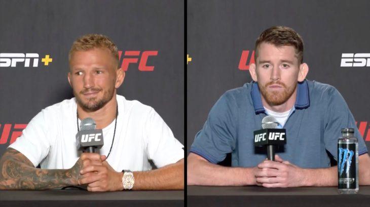 Диллашоу vs Сэндхаген – Пресс конференция перед UFC Вегас 32