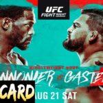 UFC Vegas 34 Cannonier vs. Gastelum Full Card Predictions & Betting Tips