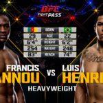 UFC Debut: Francis Ngannou vs Luis Henrique   Free Fight