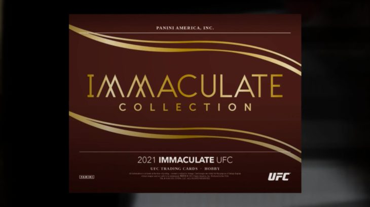 2021 Panini Immaculate UFC Trading Cards