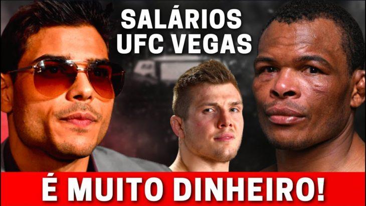 BORRACHINHA, MASSARANDUBA E VETTORI RECEBEM MUITA GRANA APÓS LUTAS NO UFC VEGAS -CONFIRA OS SALÁRIOS